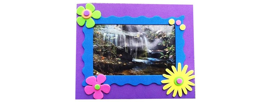 Photo Frame using Craft Foam